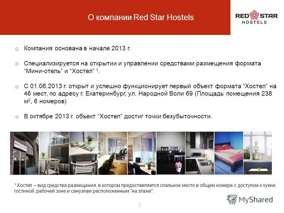 Red Star Hostel (ООО «Редстархостелс») Предложение к покупке доли в бизнесе / бизнеса Предложение для Хостельеров в г. Екатеринбурге