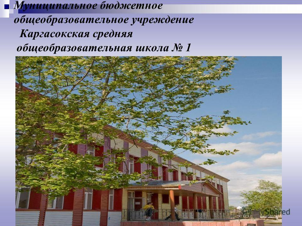 Муниципальное бюджетное общеобразовательное учреждение Каргасокская средняя общеобразовательная школа 1