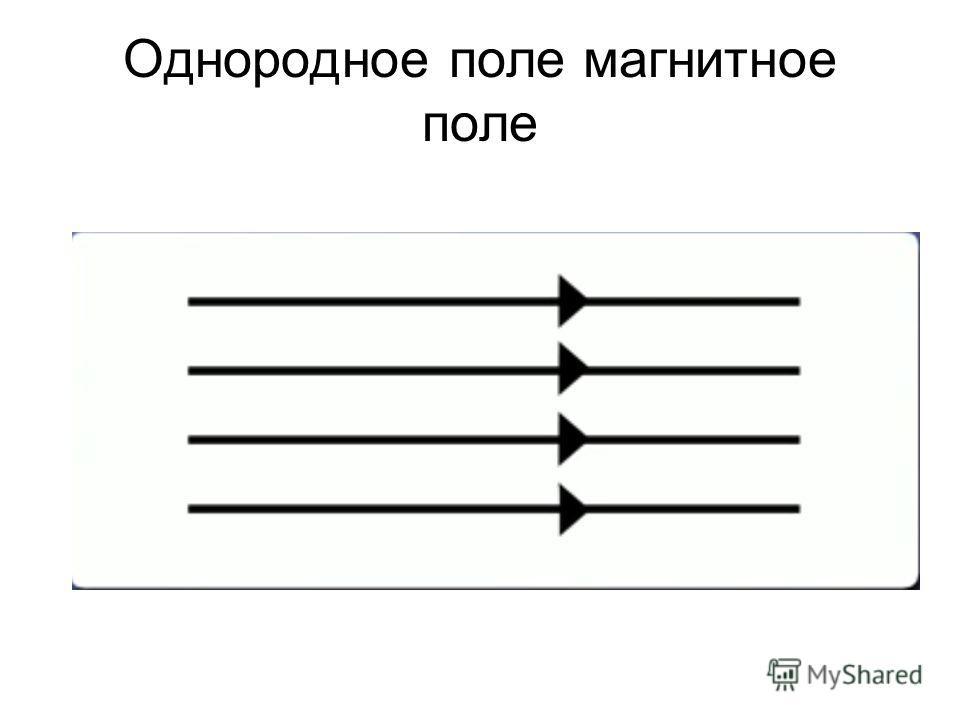 Однородное поле магнитное поле