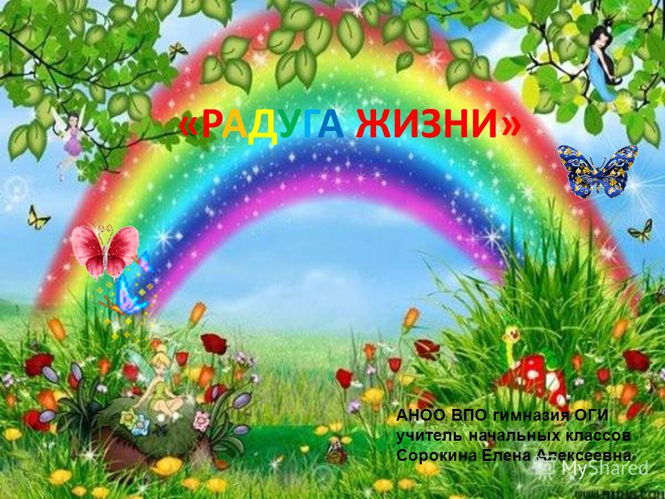 АНОО ВПО гимназия ОГИ учитель начальных классов Сорокина Елена Алексеевна