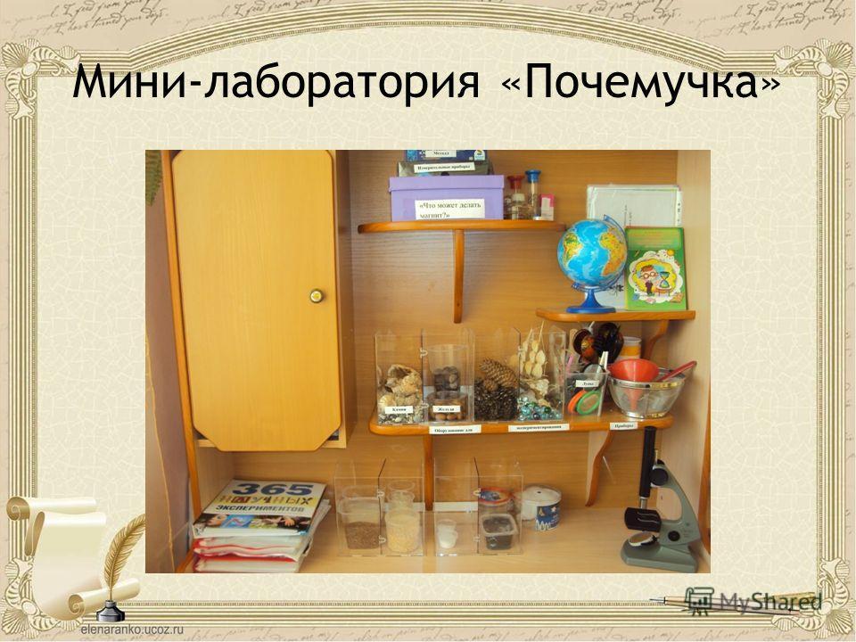Мини-лаборатория «Почемучка»