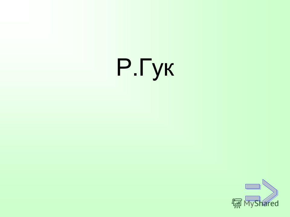 Р.Гук