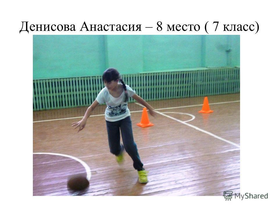 Денисова Анастасия – 8 место ( 7 класс)