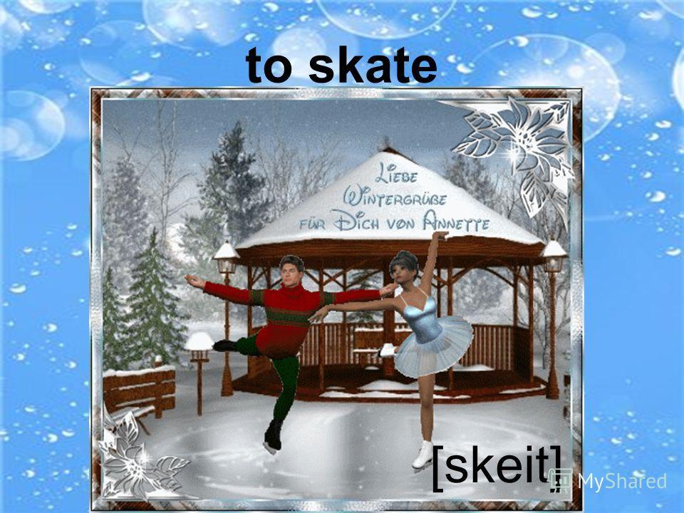 to ski jump [ski dЗ mp] ^