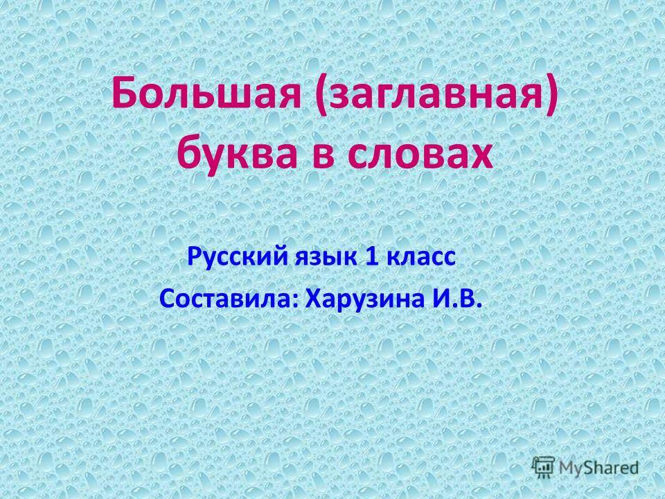 Большая (заглавная) буква в словах ...: www.myshared.ru/slide/820151