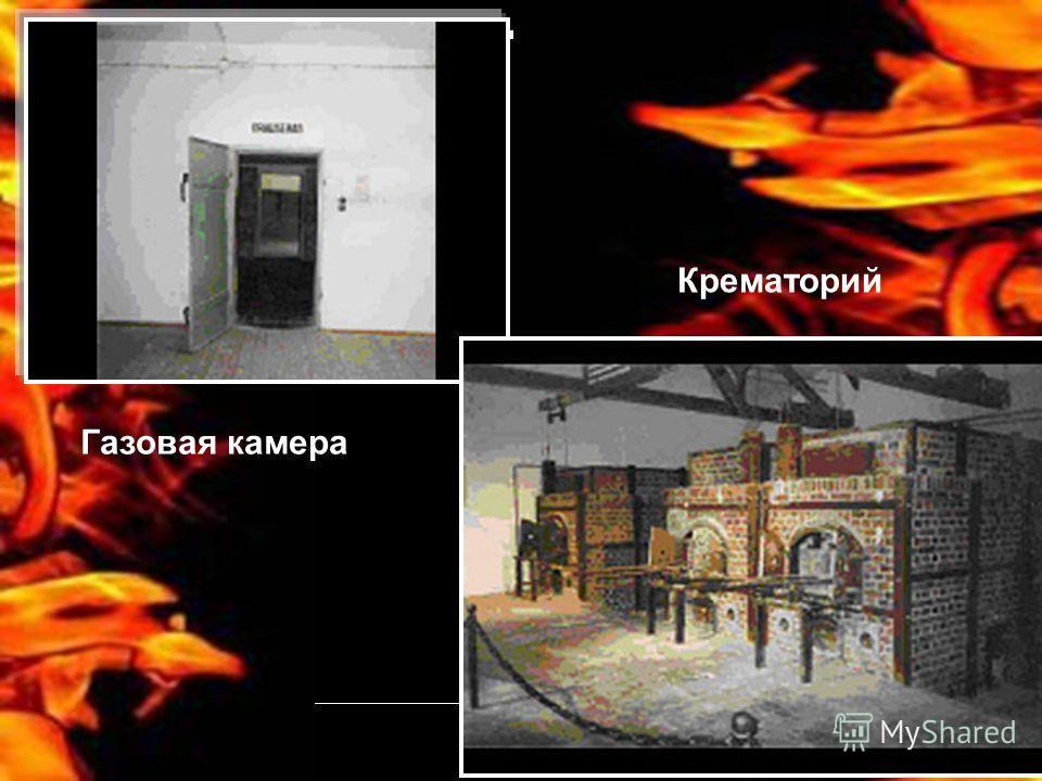 Газовая камера Крематорий