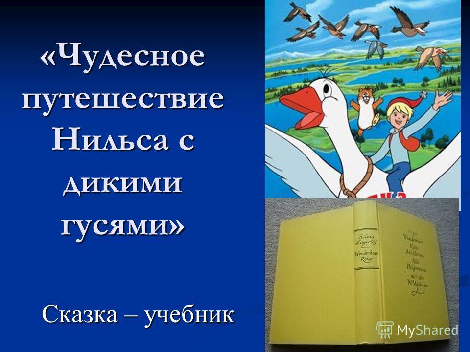 «Чудесное путешествие Нильса с дикими гусями» Сказка – учебник