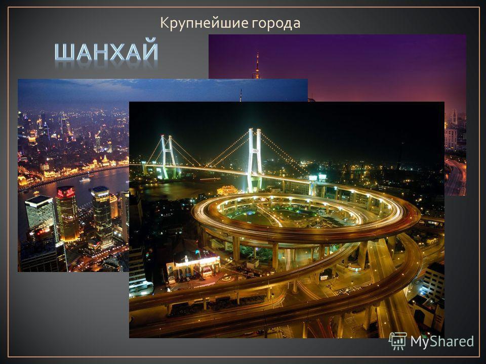 Крупнейшие города
