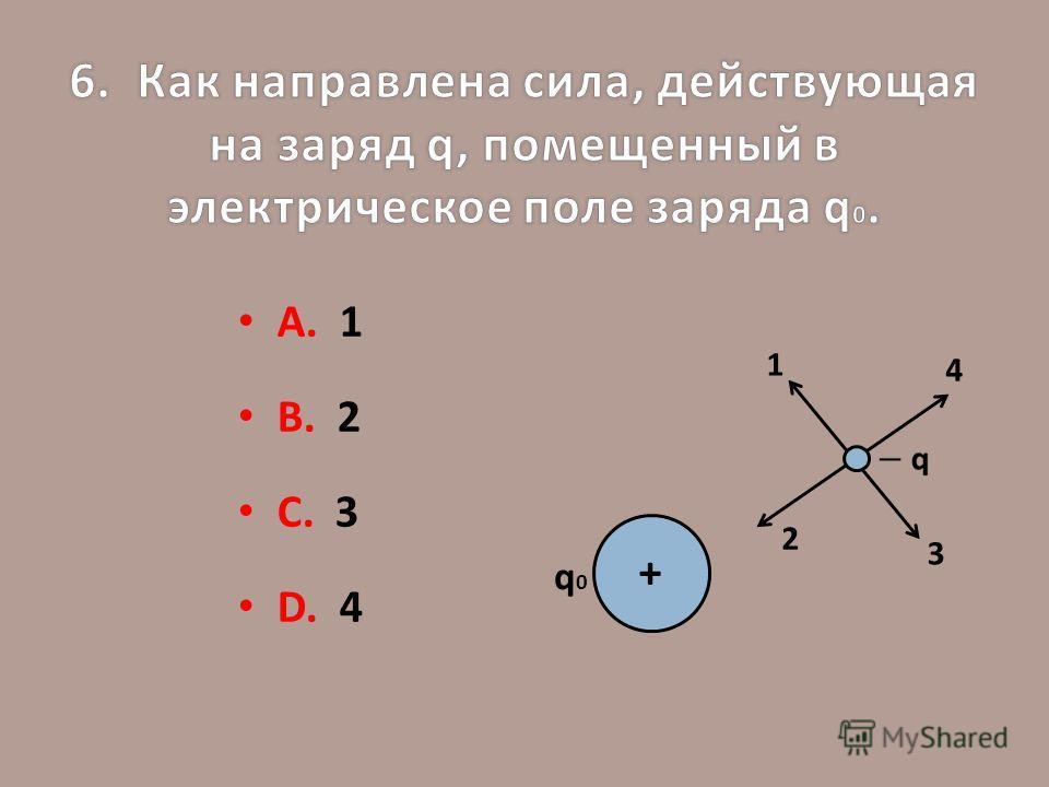 А. 1 В. 2 С. 3 D. 4 q0q0 + 1 2 3 4