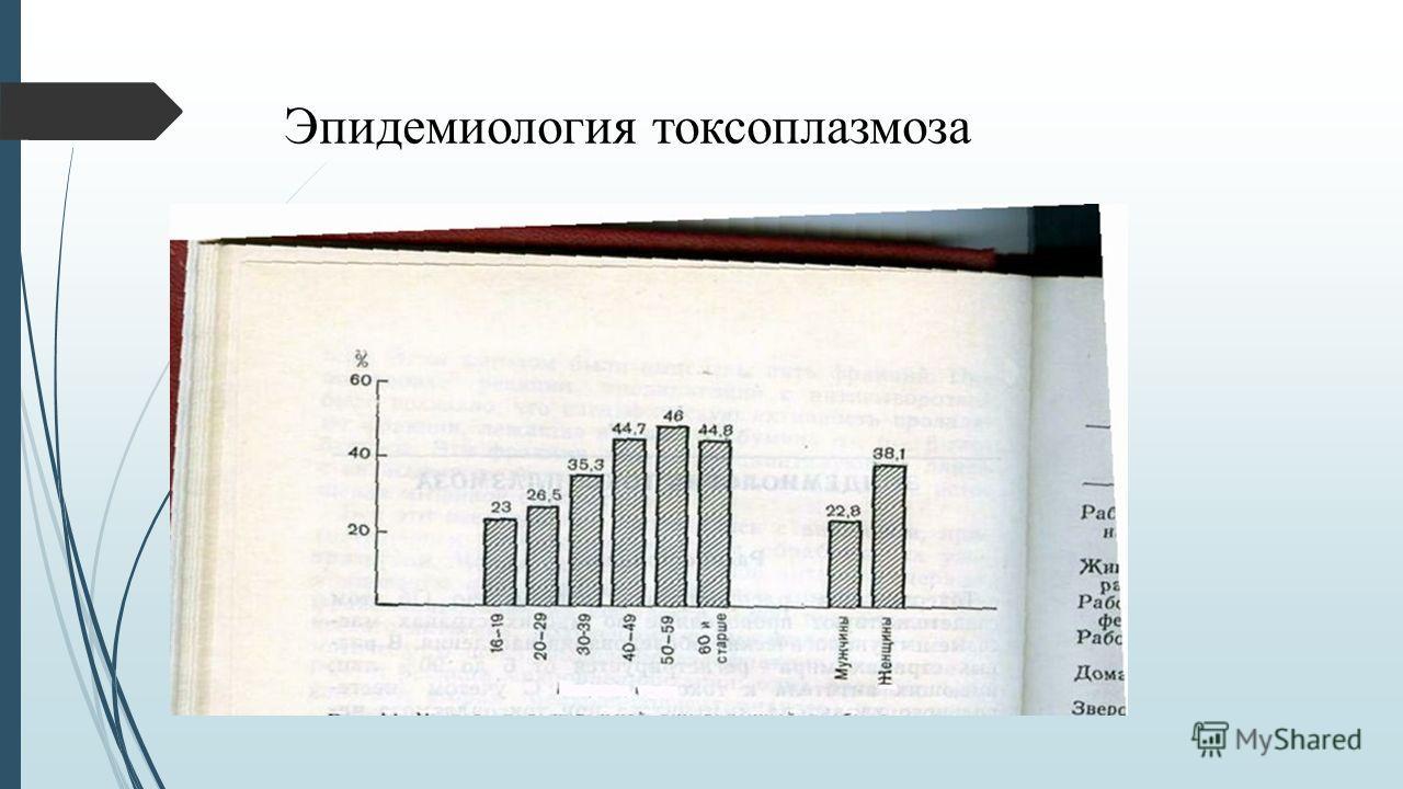 Эпидемиология токсоплазмоза