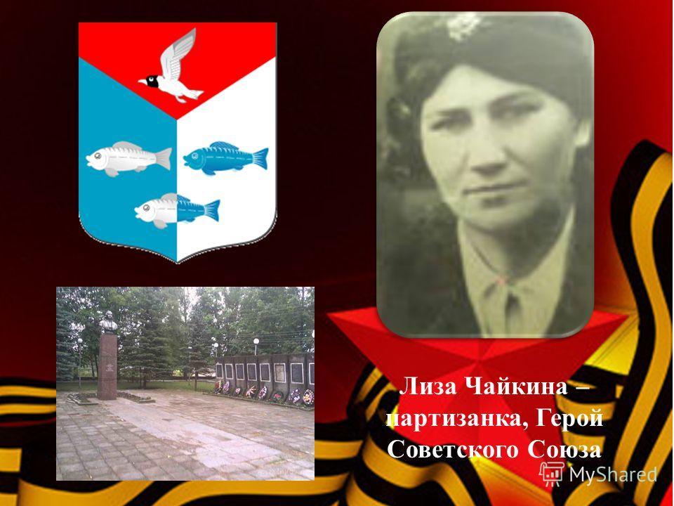 Лиза Чайкина – партизанка, Герой Советского Союза