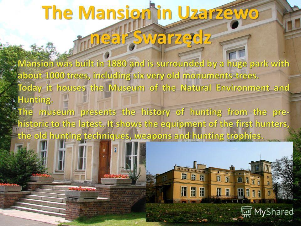 The Mansion in Uzarzewo near Swarzędz