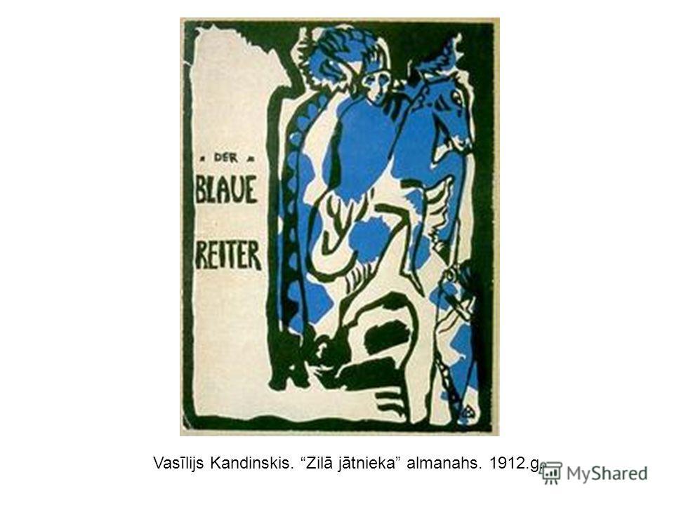Vasīlijs Kandinskis. Zilā jātnieka almanahs. 1912.g.