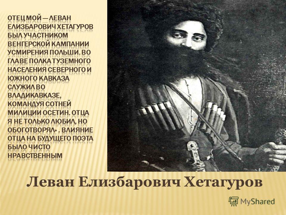 Леван Елизбарович Хетагуров