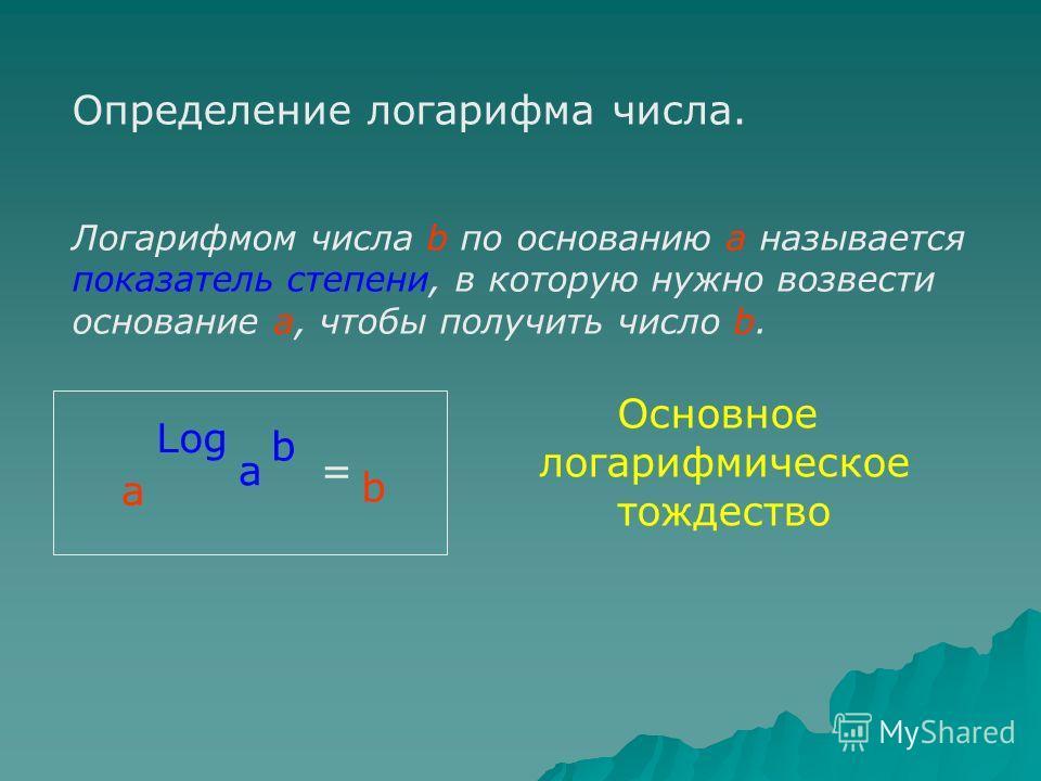 1614 год - Джон Непер впервые пришел к идее логарифмических вычислений. Термин логарифм означает искусственное число. 1624 год - Генри Бригс - создание таблиц десятичных логарифмов. 1703 год - перевод таблиц на русский язык 1716 год - Леонтий Магницк