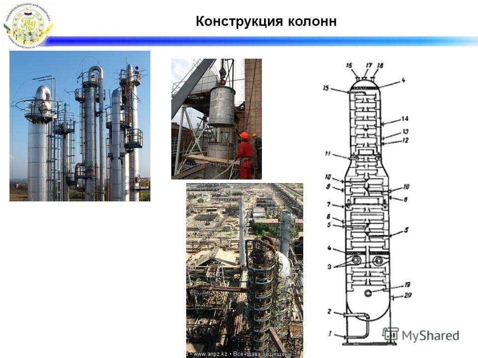 Конструкция колонн