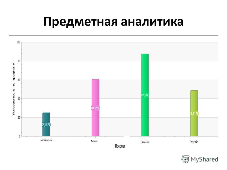 Предметная аналитика