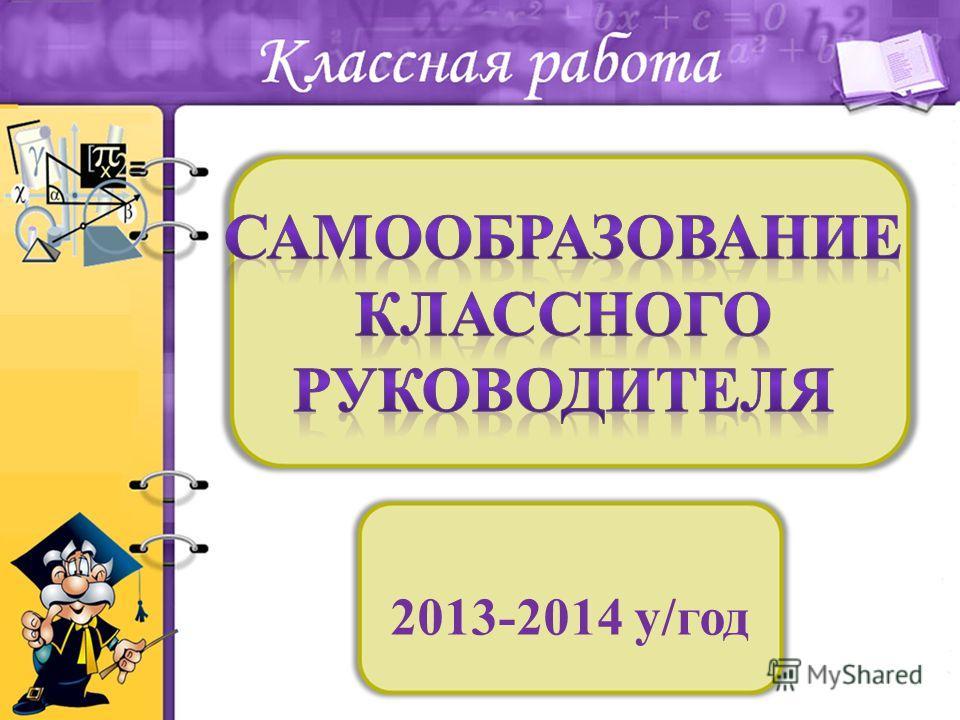 2013-2014 у/год