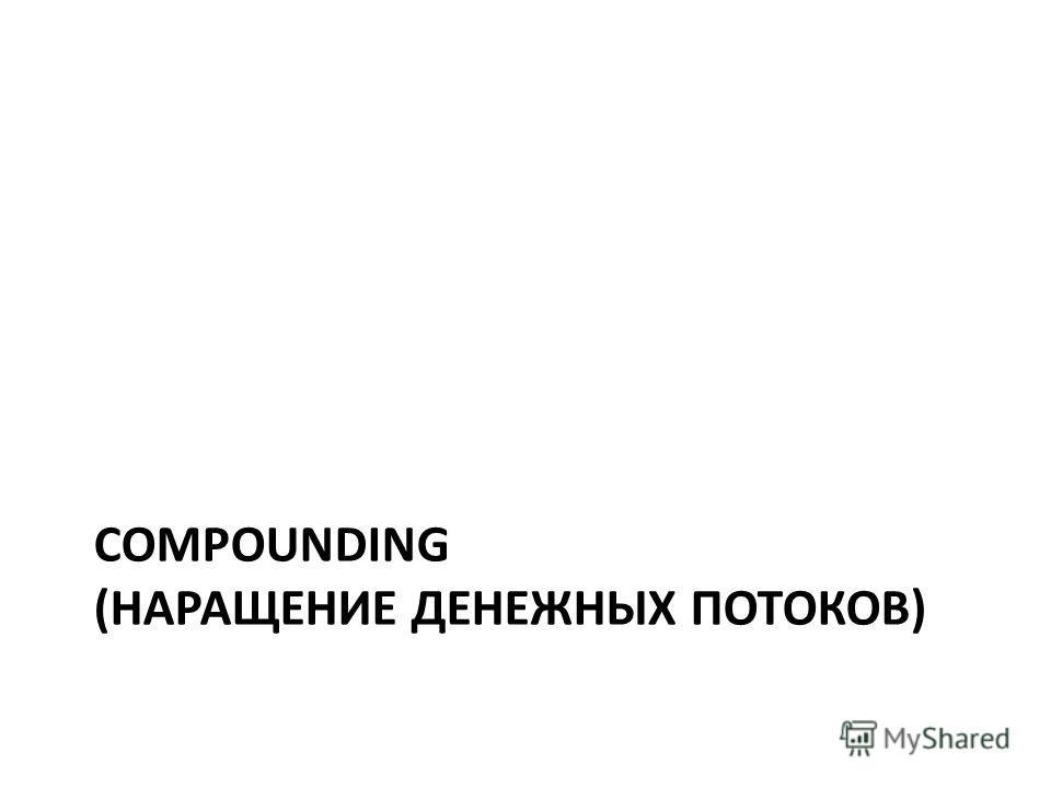 COMPOUNDING (НАРАЩЕНИЕ ДЕНЕЖНЫХ ПОТОКОВ)