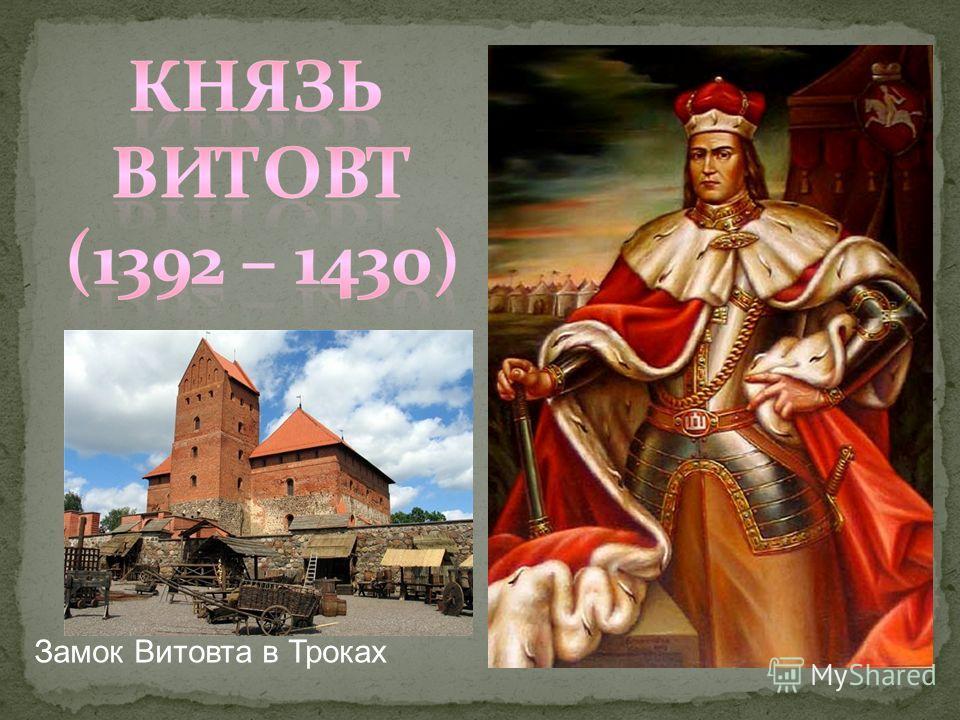 Замок Витовта в Троках