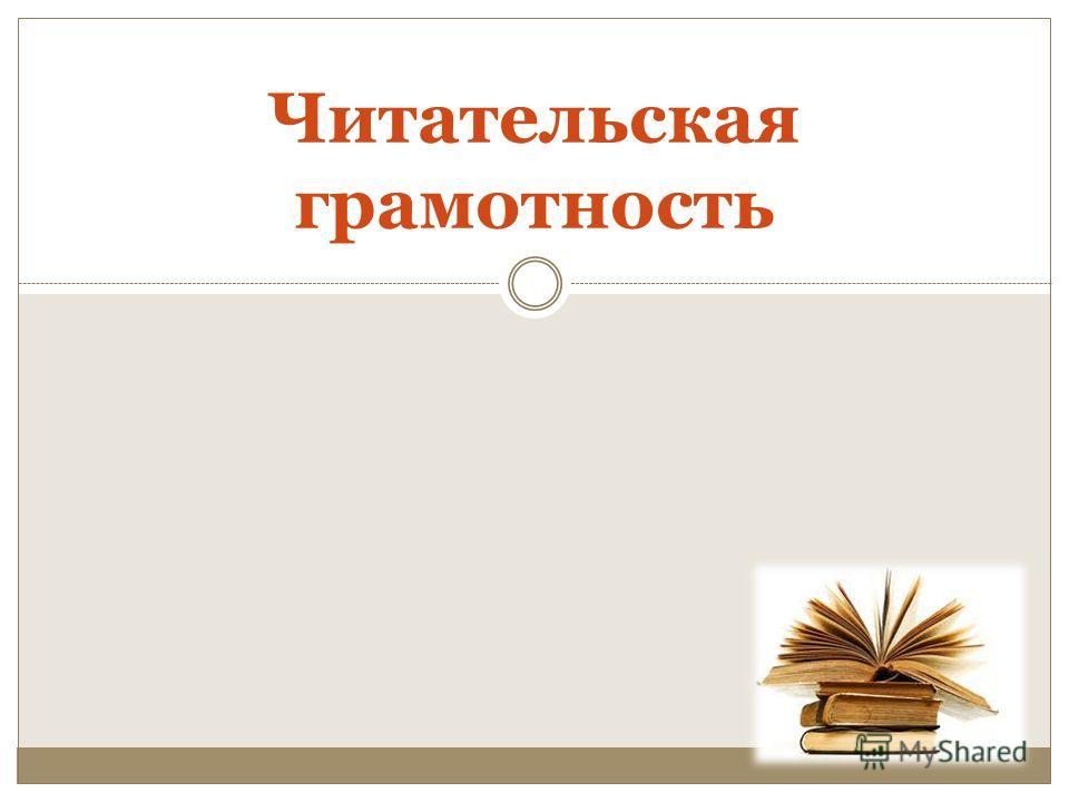 Читательская грамотность