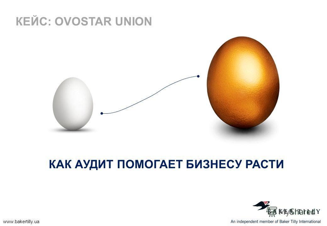 www.bakertilly.ua КАК АУДИТ ПОМОГАЕТ БИЗНЕСУ РАСТИ КЕЙС: OVOSTAR UNION