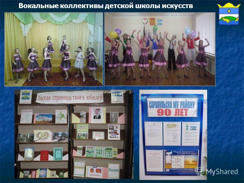 Вокальные коллективы детской школы искусств