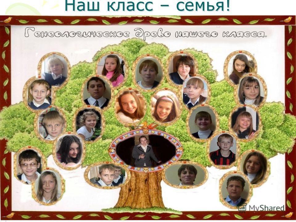 Наш класс – семья!