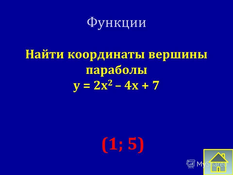 Функции Что является графиком функции ГИПЕРБОЛА