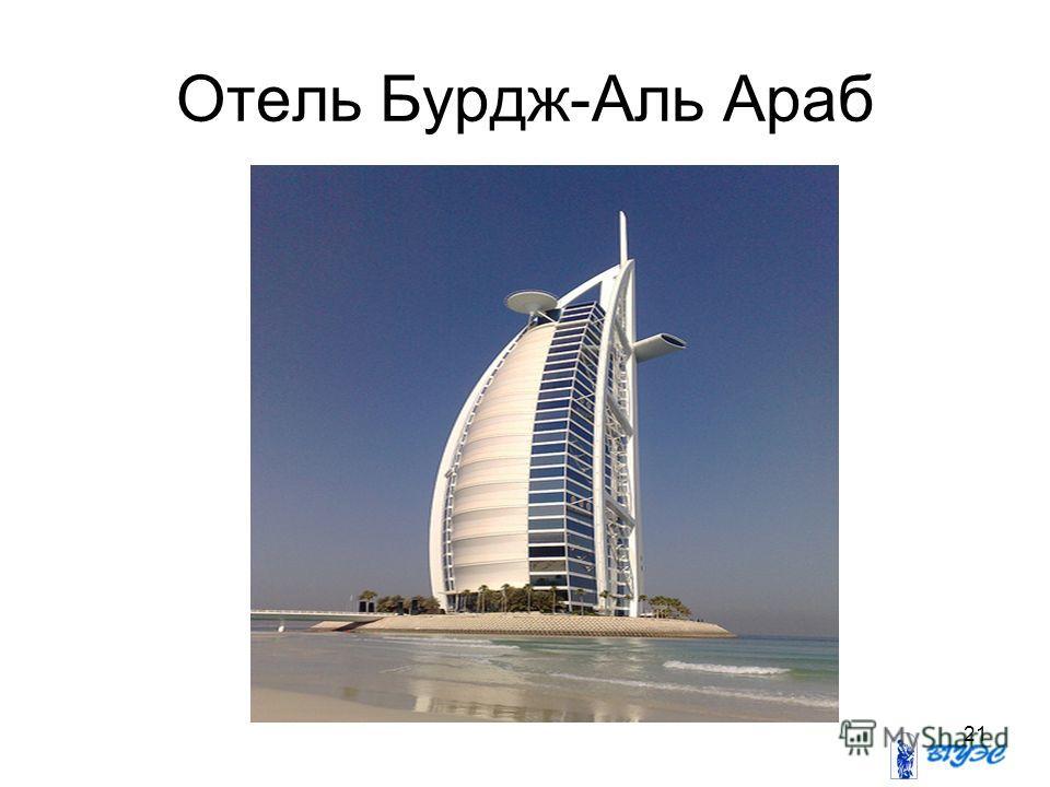 21 Отель Бурдж-Аль Араб