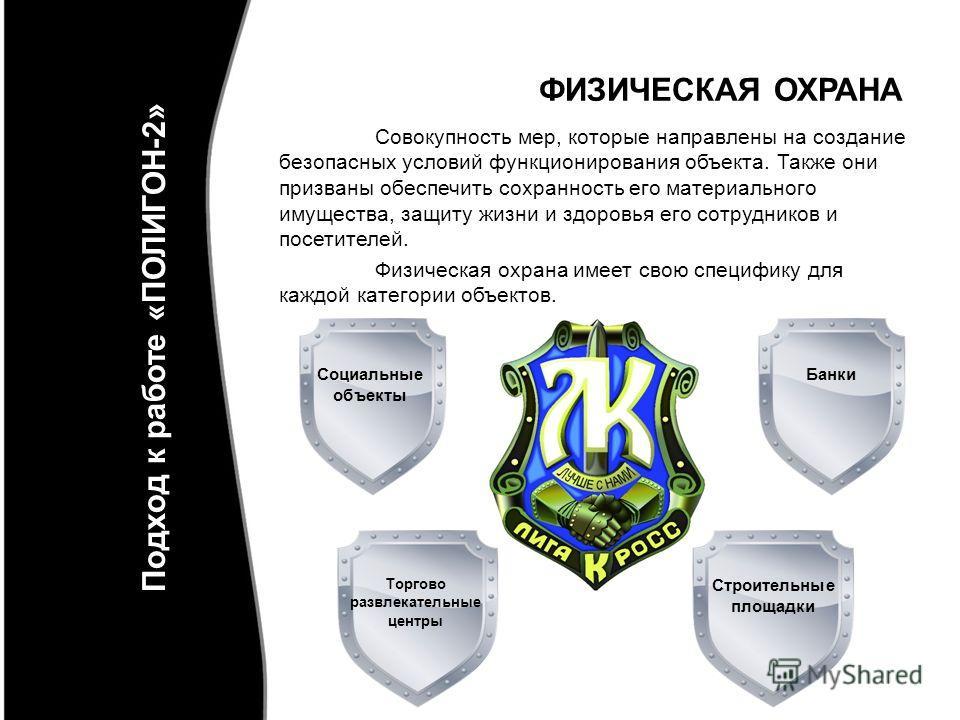 Полигон -2 это: Физическая охрана Пультовая охрана Сопровождение грузов Комплексное обеспечение безопасности Физическая охрана «ПОЛИГОН-2»