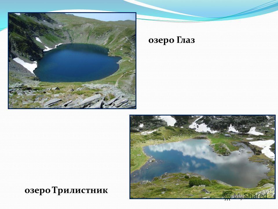 озеро Глаз озеро Трилистник