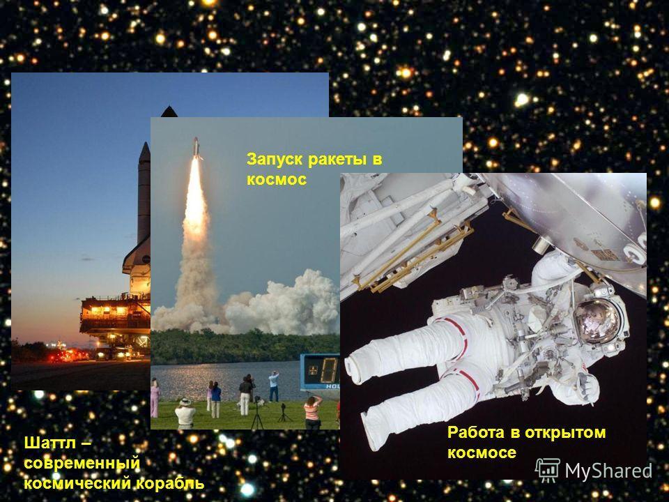 Шаттл – современный космический корабль Запуск ракеты в космос Работа в открытом космосе