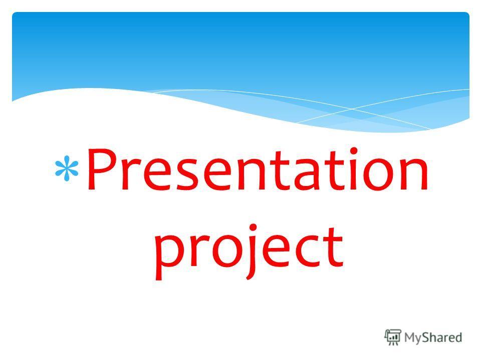 Presentation project