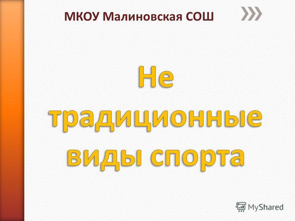 МКОУ Малиновская СОШ