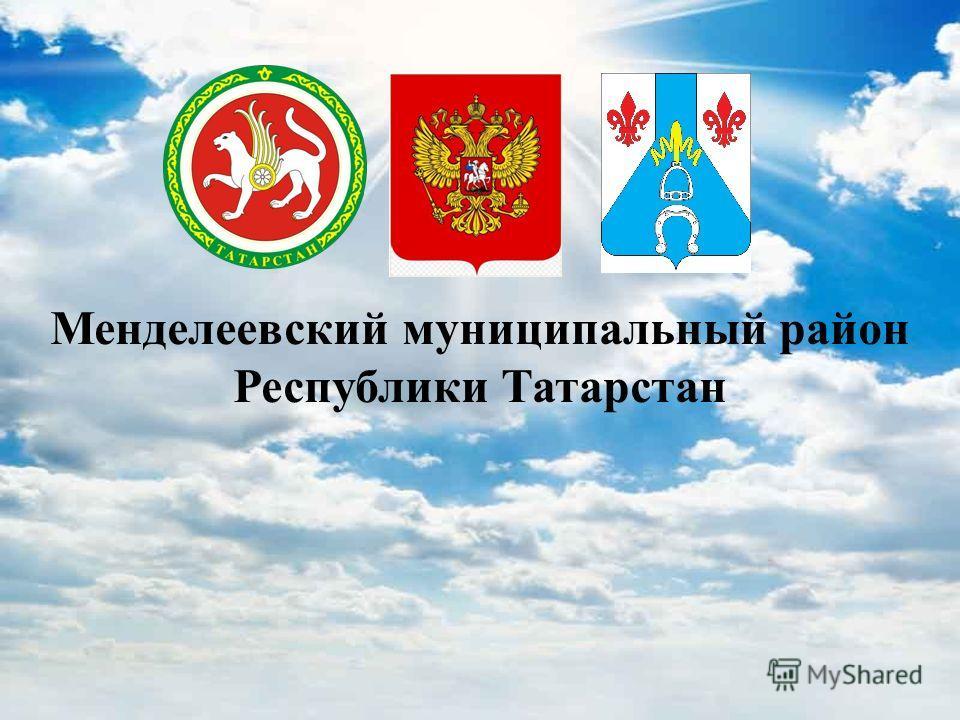 Менделеевский муниципальный район Республики Татарстан