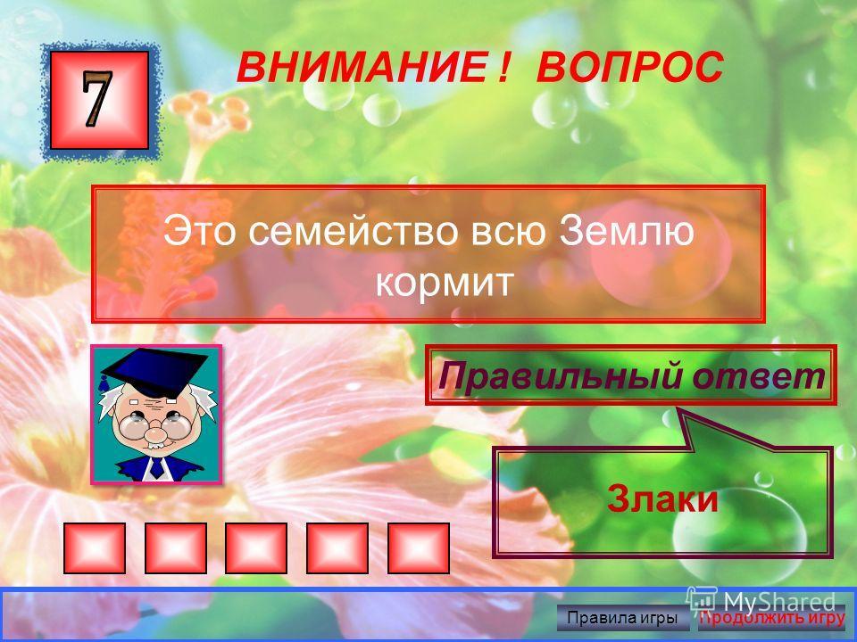 ВНИМАНИЕ ! ВОПРОС Беленькие горошки на зеленой ножке Правильный ответ Ландыши Правила игрыПродолжить игру