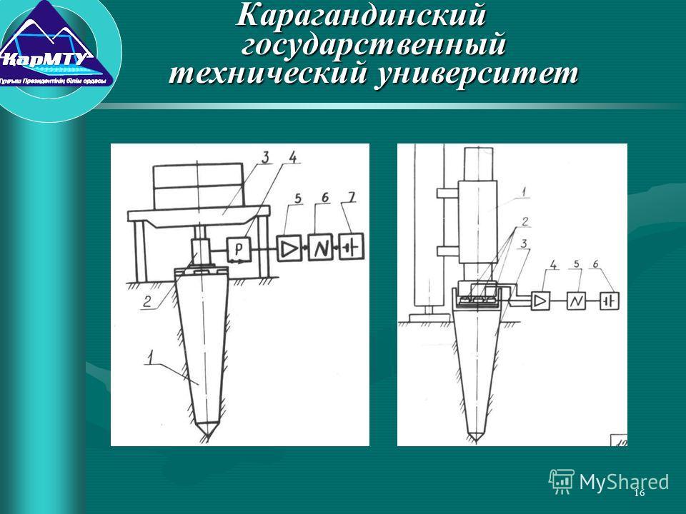 16 Карагандинский государственный технический университет