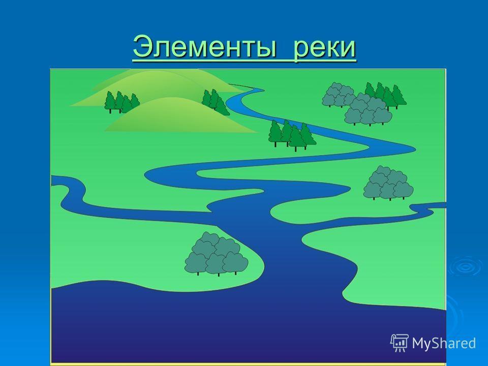 Элементы реки Элементы реки