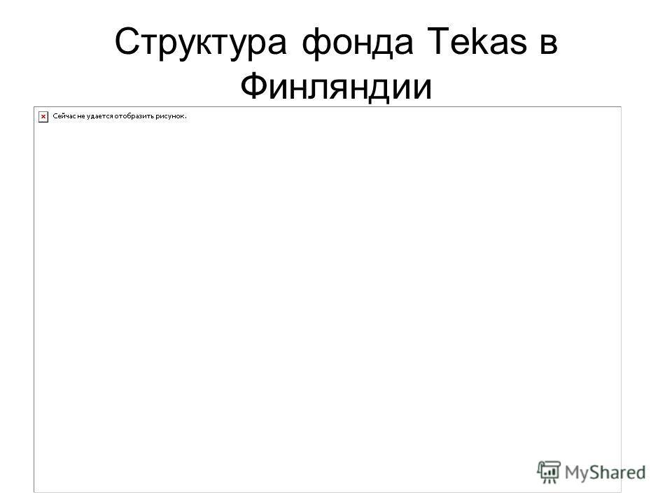 Структура фонда Tekas в Финляндии