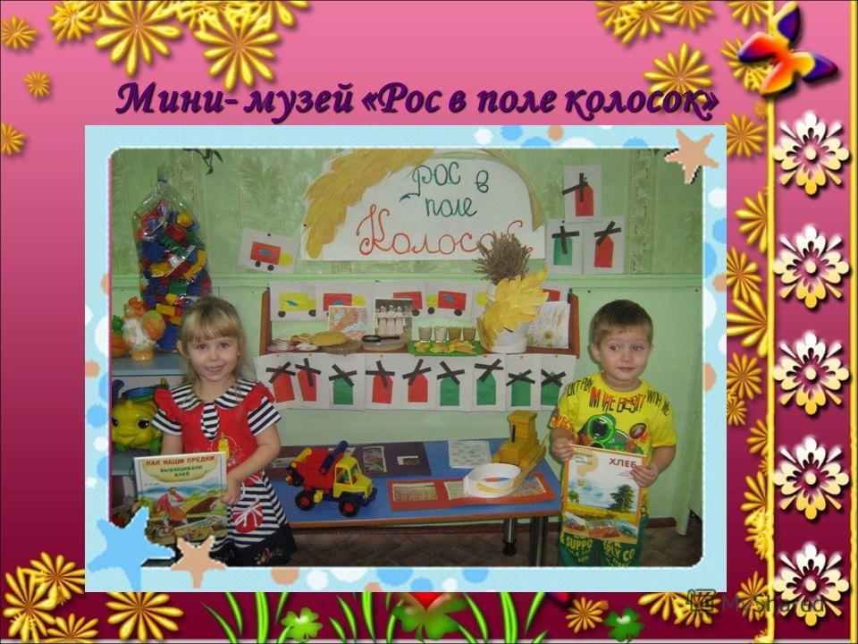 Мини- музей «Рос в поле колосок»
