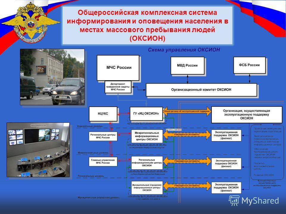 Общероссийская комплексная система информирования и оповещения населения в местах массового пребывания людей (ОКСИОН)