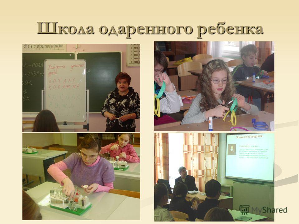 Школа одаренного ребенка