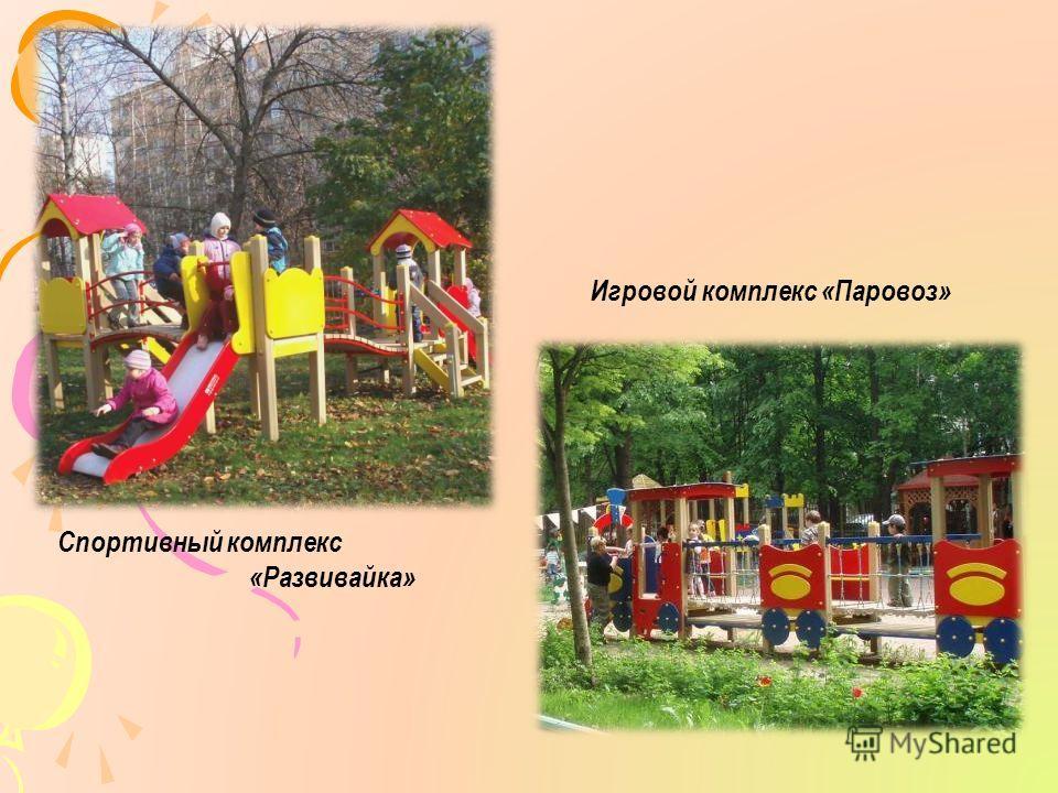 Спортивный комплекс «Развивайка» Игровой комплекс «Паровоз»