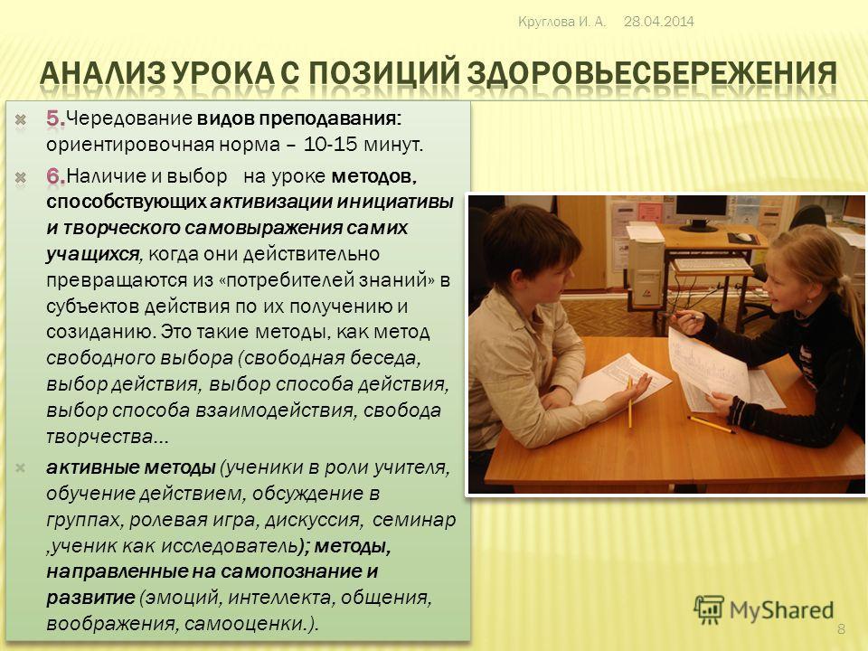 28.04.2014Круглова И. А. 7