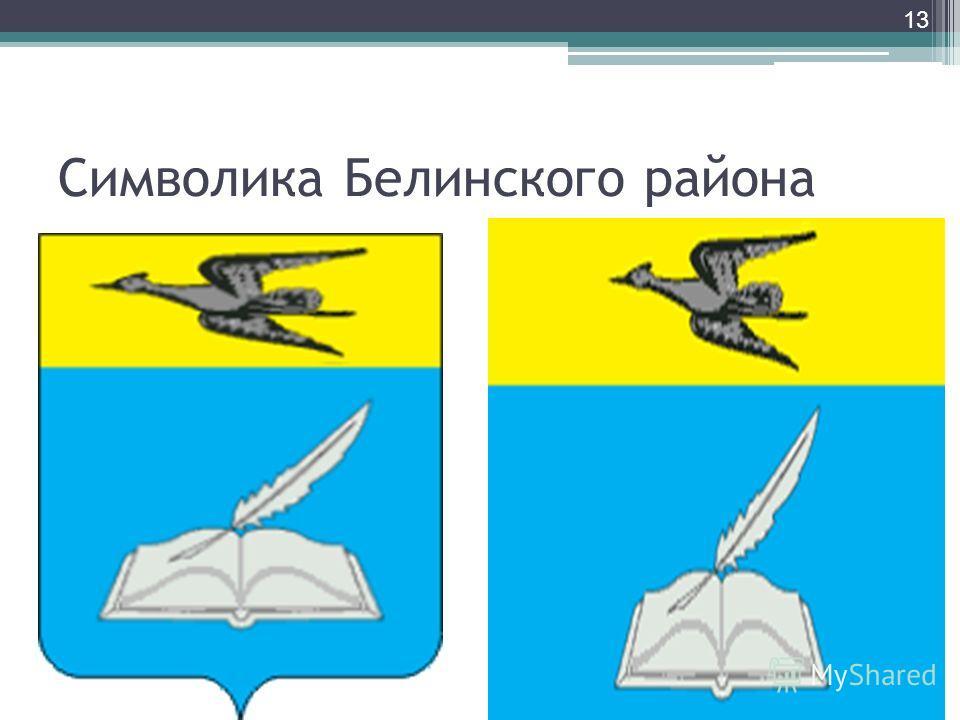 Символика Белинского района 13