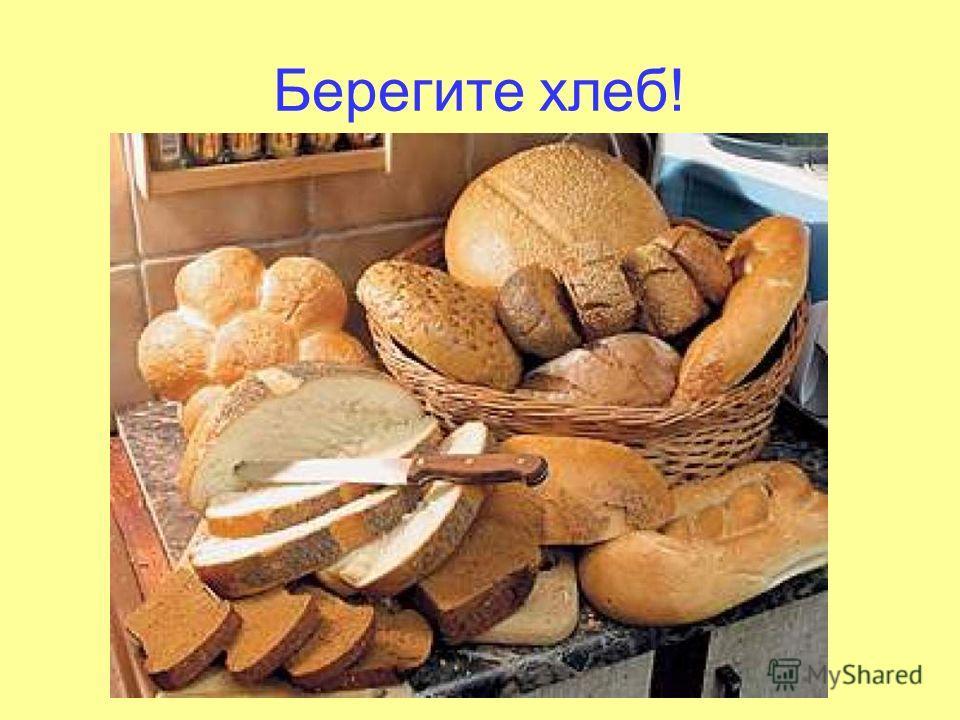 Берегите хлеб!