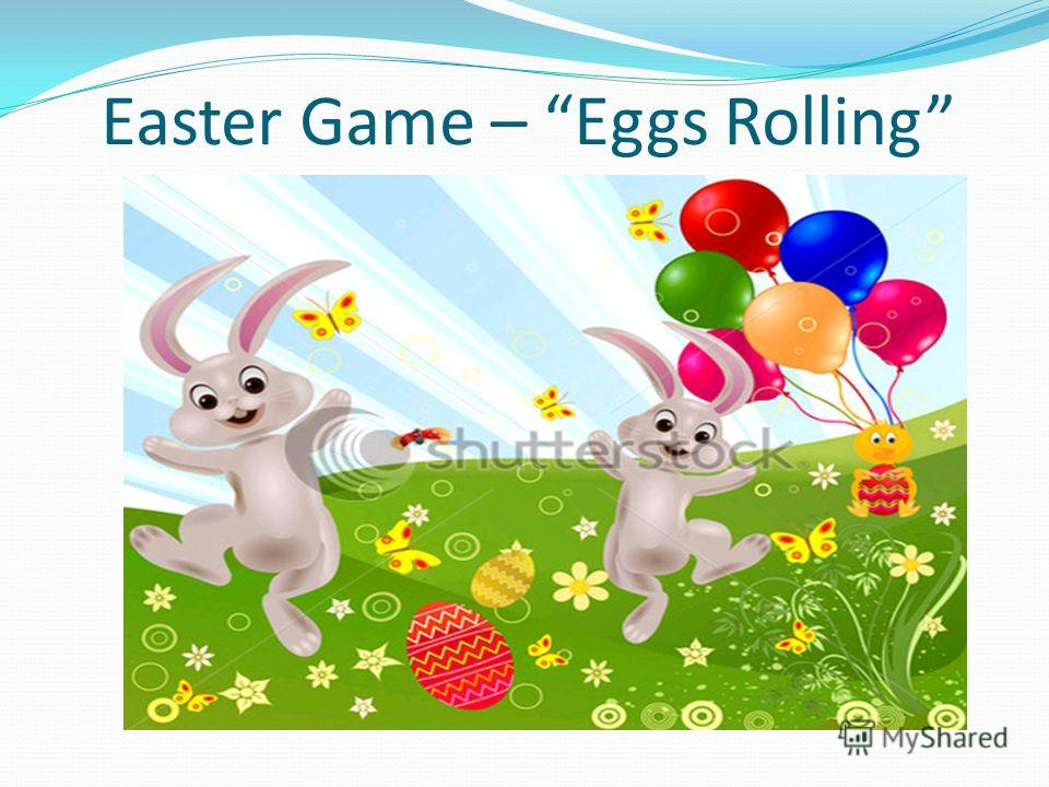 Easter Game – Eggs Rolling