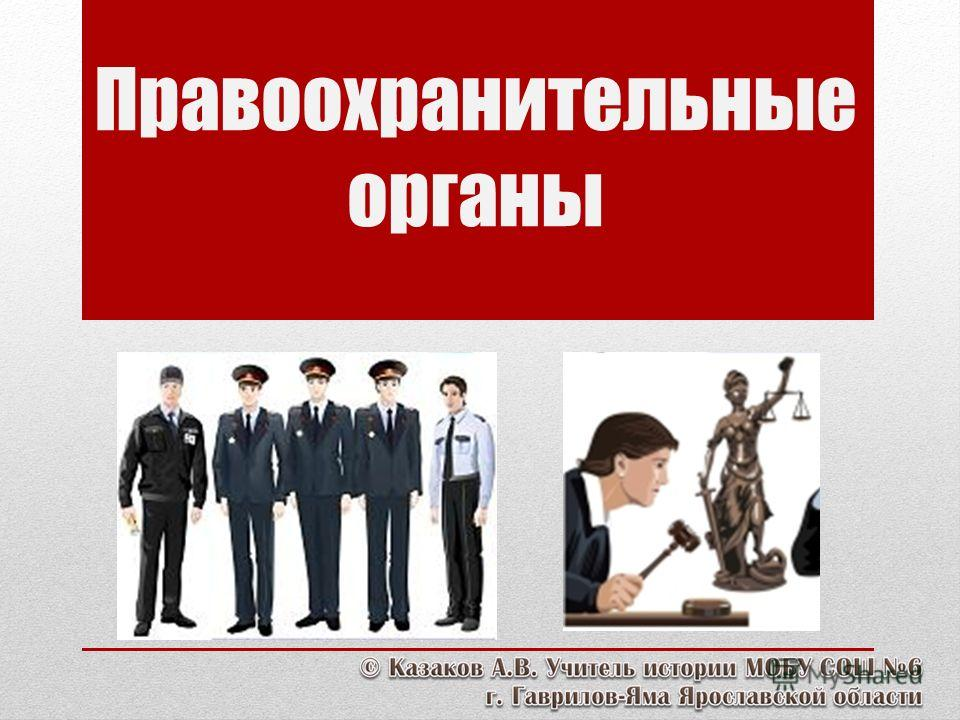 Правоохранительные органы