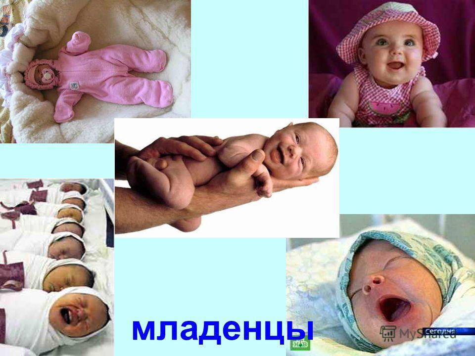 Любое общество образуют люди разного возраста - от глубоких стариков до новорождённых младенцев.
